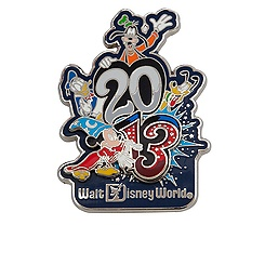 Sorcerer Mickey Mouse and Friends Pin - Walt Disney World - 2013
