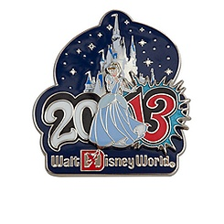 Cinderella Pin - Walt Disney World - 2013