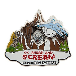 Yeti Pin - Expedition Everest - Disney's Animal Kingdom