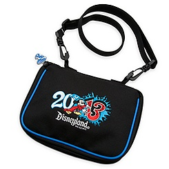 Sorcerer Mickey Mouse Pin Trading Bag - Disneyland 2013 - Small