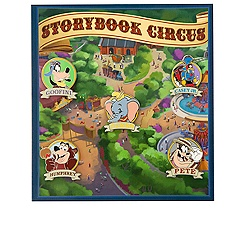 Storybook Circus Pin Set - Walt Disney World