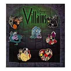 Disney Villains Pin Set