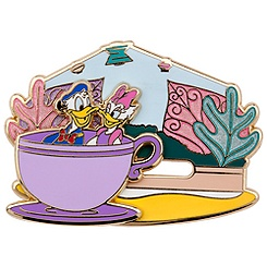 Donald and Daisy Duck Pin - Mad Tea Party - Online Exclusive