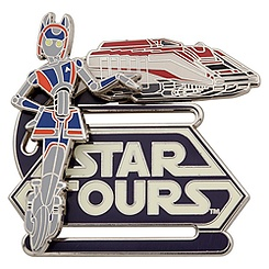 Star Tours StarSpeeder Pin