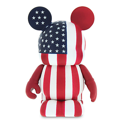 Vinylmation Theme Park Favorites Series 3'' Figure - American Flag