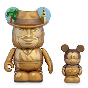 Vinylmation Storyteller 3'' Figure plus 1 1/2'' Junior Set - Walt Disney and Mickey Mouse