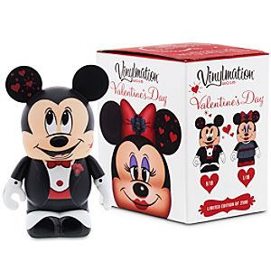 Vinylmation Mickey and Minnie Mouse Eachez 3'' Figure - Valentine's Day 2015