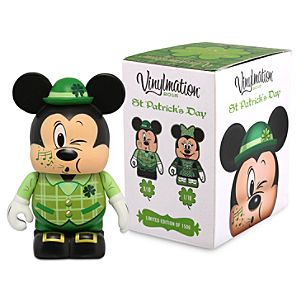 Vinylmation St Patrick's Day 2015 Eachez 3'' Figure - Mickey and Minnie Mouse