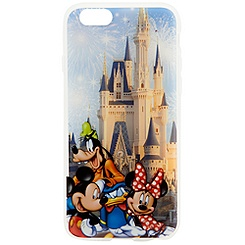 Mickey Mouse and Friends Cinderella Castle iPhone 6 Case