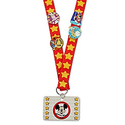 The Mickey Mouse Club Deluxe Pin Trading Starter Set