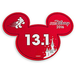 Mickey Mouse runDisney 2016 Magnet - 13.1