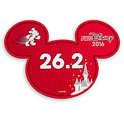 Mickey Mouse runDisney 2016 Magnet - 26.2