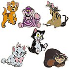 Disney Cats Pin Trading Booster Set