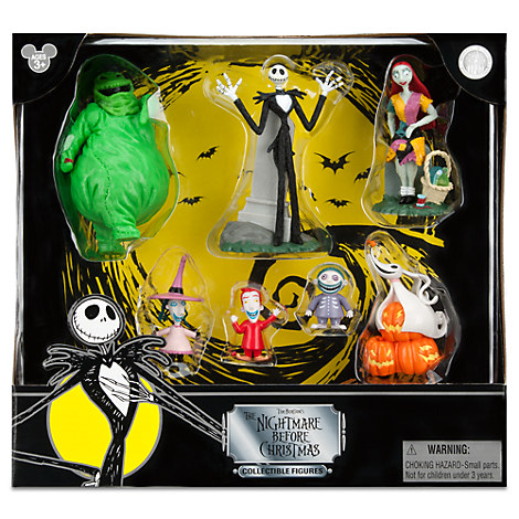 The Nightmare Before Christmas Figure Play Set
