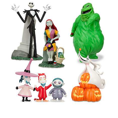 The Nightmare Before Christmas Figure Play Set | Play Sets & More ...