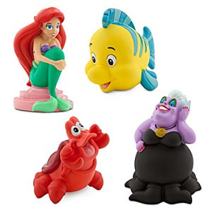 The Little Mermaid Squeeze Toy Set