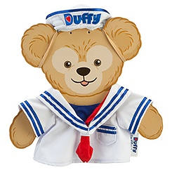 Duffy the Disney Bear Sailor Costume -- 17'' H