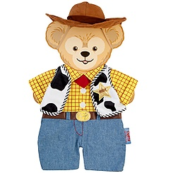 Duffy the Disney Bear Woody Costume -- 17'' H