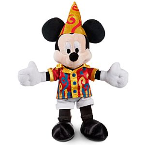 Move It! Shake It! Celebrate It! Street Party Parade Mickey Mouse Plush -- 9