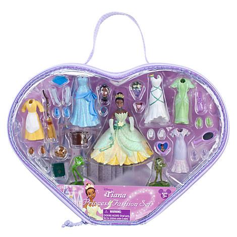 Disney Deluxe Princess & the Frog Tiana Fashion PlaySet ...