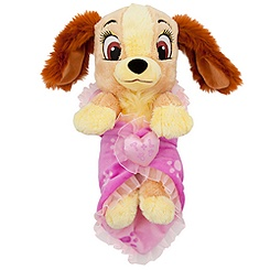 Disney's Babies Lady Plush Doll and Personalizable Blanket