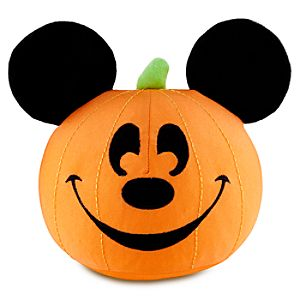 Mickey Mouse Jack OLantern Plush -- 7