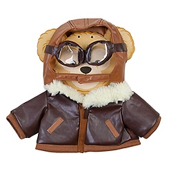 Duffy the Disney Bear Aviator Costume -- 17'' H