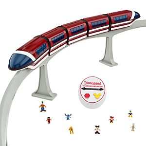 Disneyland Monorail Play Set