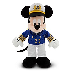 Disney Cruise Line Mickey Mouse Plush