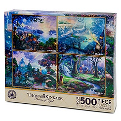 Thomas Kinkade Puzzle Set