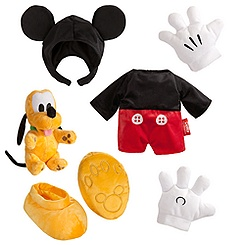 Duffy the Disney Bear Mickey Mouse Costume - 17''