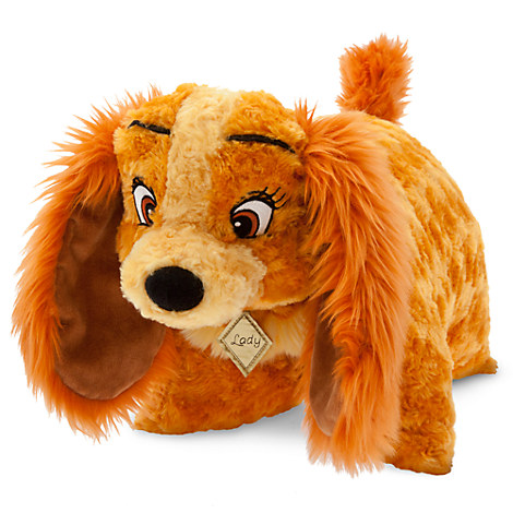 NEW Disney World Lady and the Tramp Pillow Pet Pal Plush Parks Exclusive