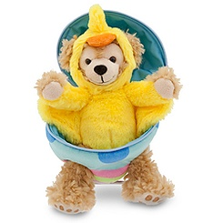 Duffy the Disney Bear Easter Egg Plush - 9'' H
