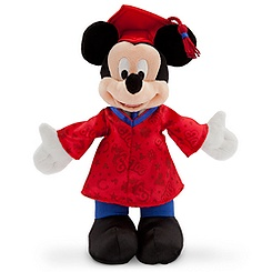 Mickey Mouse 2013 Graduation Plush - 7''