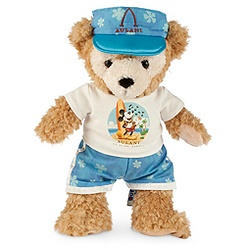 Duffy the Disney Bear Plush - Aulani, A Disney Resort & Spa - Medium - 12''