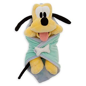Disney's Babies Pluto Plush Doll and Blanket - 11''