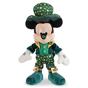 Mickey Mouse Plush - St. Patrick's Day - Small - 9''