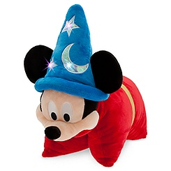 Sorcerer Mickey Mouse Light-Up Plush Pillow