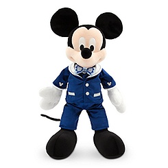 Mickey Mouse Plush - Disneyland Diamond Celebration - Medium - 15''