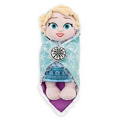Disney's Babies Elsa Plush Doll and Blanket - Small - 10''