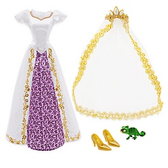 Rapunzel Doll Costume Set