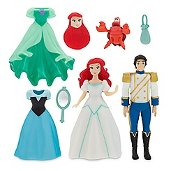 The Little Mermaid Deluxe Figure Fashion Set