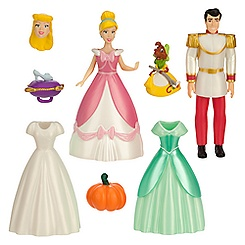 Cinderella Deluxe Figure Fashion Set