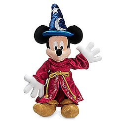 Sorcerer Mickey Mouse Plush - Disney Parks 2016 - Medium - 15''