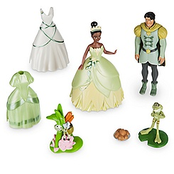 Tiana Deluxe Figure Fashion Set