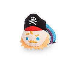 Pirate Captain ''Tsum Tsum'' Plush - Pirates of the Caribbean - Mini - 3 1/2''