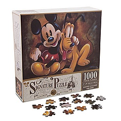 Mickey Mouse and Pluto: Pluto the Pup 85th Anniversary Jigsaw Puzzle