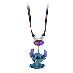 Stitch Light-Up Eye-Popping Figure and Lanyard