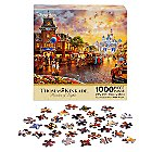 Disneyland 60th Anniversary Jigsaw Puzzle by Thomas Kinkade