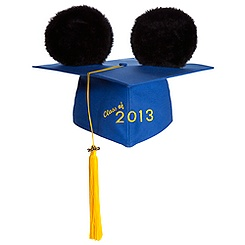 Mickey Mouse Ear Hat Graduation Cap for Adults